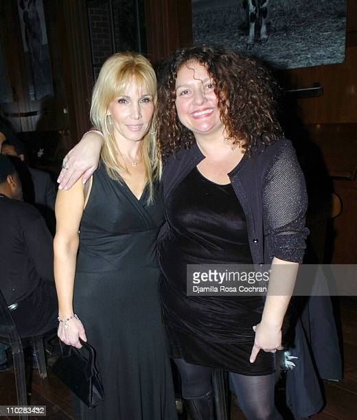 Margot Boccia and Aida Turturro during New Year's 2006 in New York City Carson Daly's New Year's Eve Party at Hudson Bar in New York City New York...