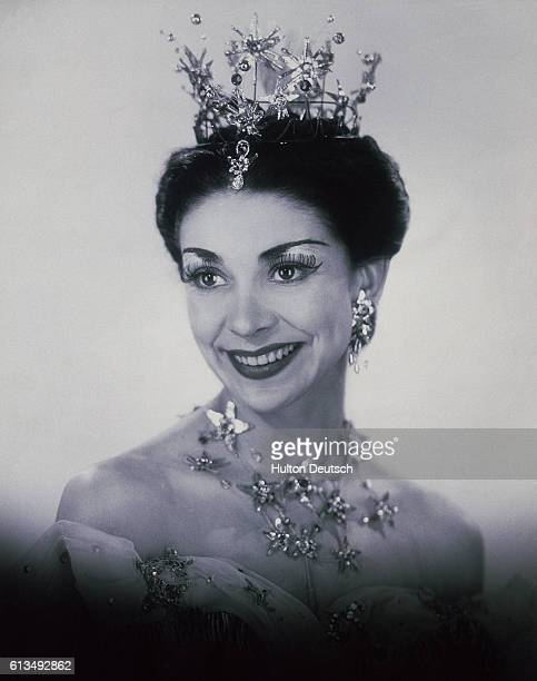 Margot Fonteyn in 'Birthday Offering' 1956 Fonteyn Margot English ballerina considered one of the finest technicians of this century She studied...