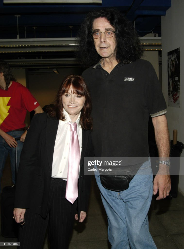 Margo Kidder and Peter Mayhew during 2006 Big Apple Comic Book, Art, Toy and Horror Expo - Press Reception at Penn Plaza Pavilion in New York City, New York, United States.