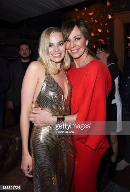 Margot Robbie and Allison Janney attend NEON and 30WEST Present the Los Angeles Premiere of 'I Tonya' Supported By Svedka on December 5 2017 in Los...