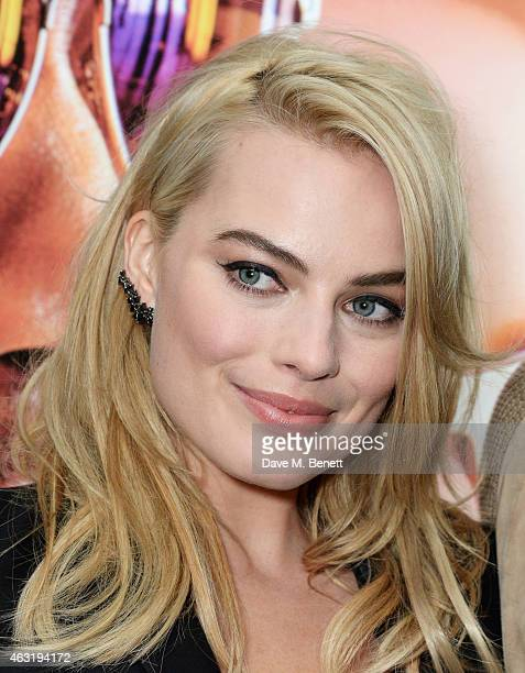 Margot Robbie attends a special screening of 'Focus' at the Vue West End on February 11 2015 in London England
