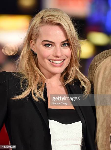 Margot Robbie attends a special screening of 'Focus' at Vue West End on February 11 2015 in London England