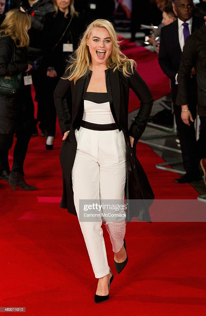 Margot Robbie attends a special screening of 'Focus' at Vue West End on February 11, 2015 in London, England.