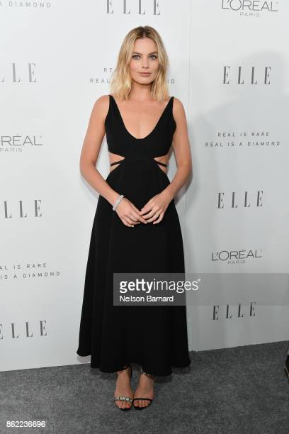 Margot Robbie attends ELLE's 24th Annual Women in Hollywood Celebration presented by L'Oreal Paris Real Is Rare Real Is A Diamond and CALVIN KLEIN at...