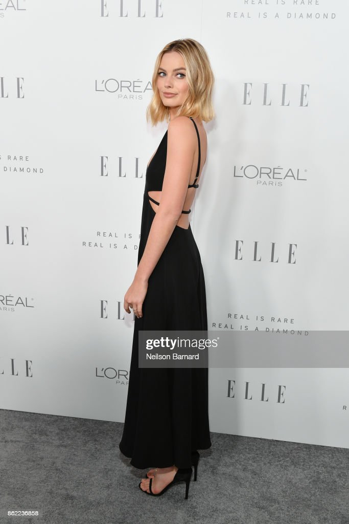 Margot Robbie attends ELLE's 24th Annual Women in Hollywood Celebration presented by L'Oreal Paris, Real Is Rare, Real Is A Diamond and CALVIN KLEIN at Four Seasons Hotel Los Angeles at Beverly Hills on October 16, 2017 in Los Angeles, California.