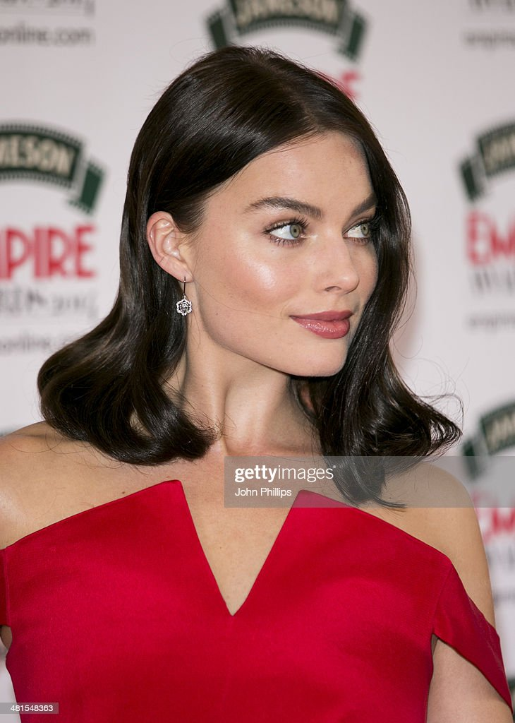 Margot Robbie attends the Jameson Empire Film Awards at The Grosvenor House Hotel on March 30, 2014 in London, England.
