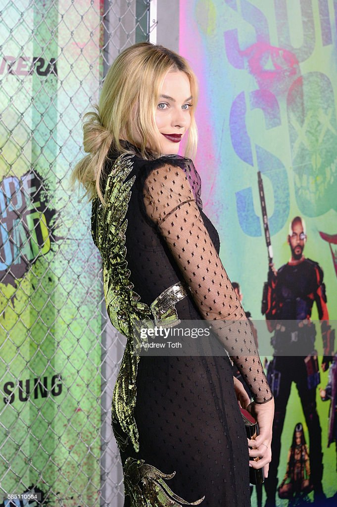 Margot Robbie attends the 'Suicide Squad' World Premiere at The Beacon Theatre on August 1, 2016 in New York City.
