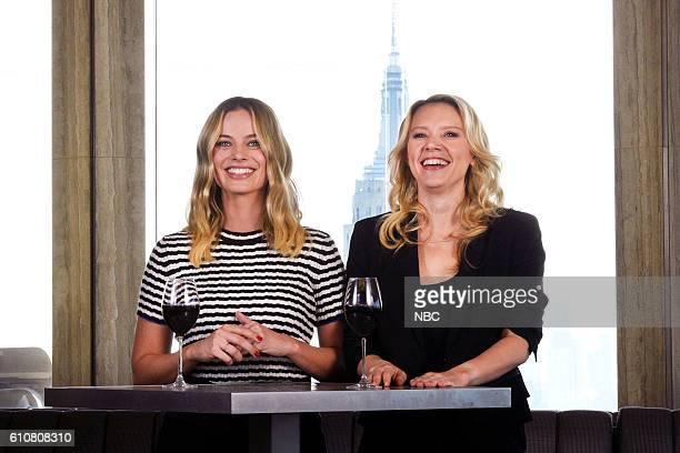 LIVE 'Margot Robbie' Episode 1705 Pictured Host Margot Robbie and Kate McKinnon on September 27 2016