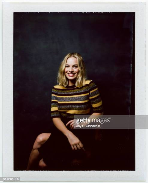 Margot Robbie from the film 'I Tonya' is photographed on polaroid film at the LA Times HQ at the 42nd Toronto International Film Festival in Toronto...