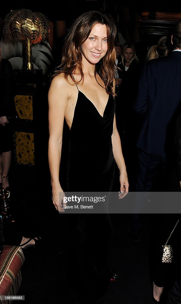 Margot Stilley attends a private dinner hosted by Tom Ford to celebrate his runway show during London Collections: MEN AW13 at Loulou's on January 9, 2013 in London, England.