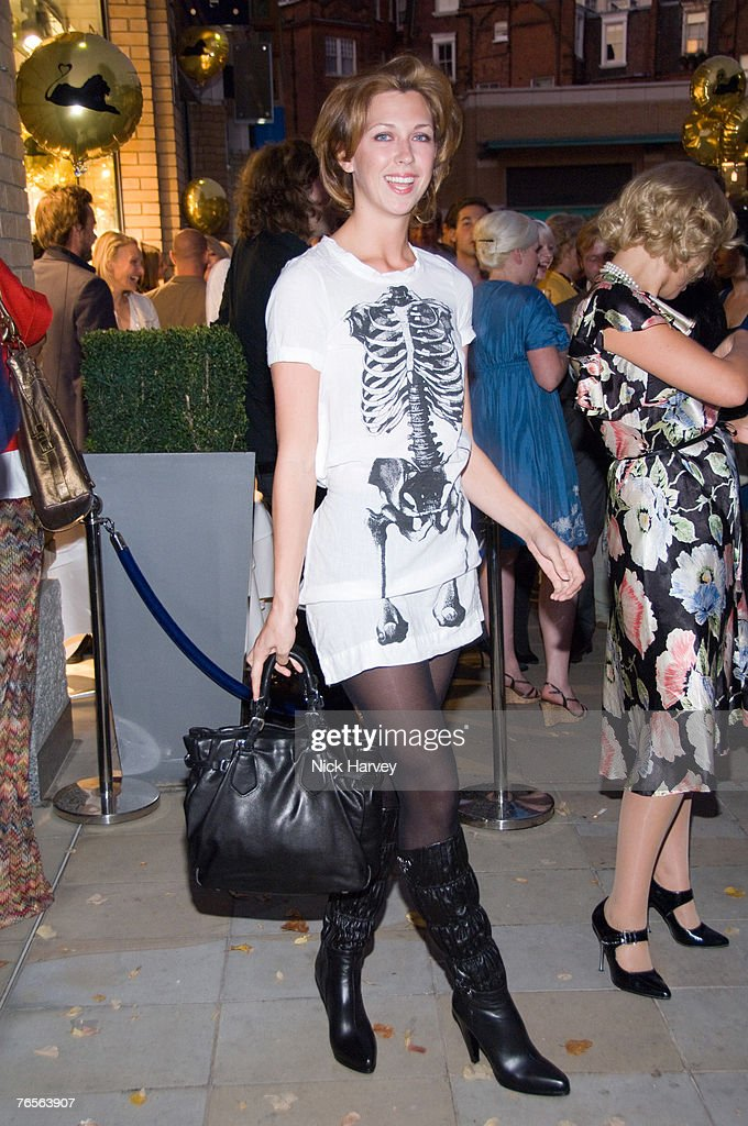 Margot Stilley atttends the launch of Hari at Trilogy in Duke of York Square on September 5, 2007 in London, England.