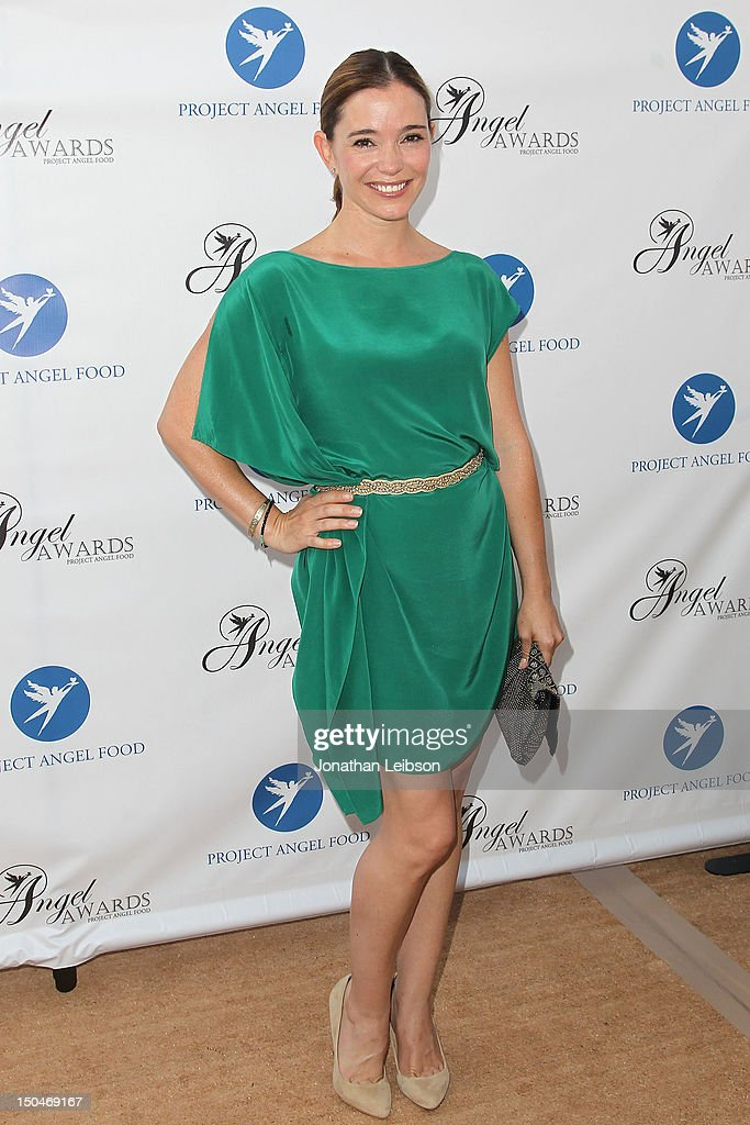Marguerite Moreau attends the Project Angel Food's Annual Summer Soiree at Project Angel Food on August 18, 2012 in Los Angeles, California.