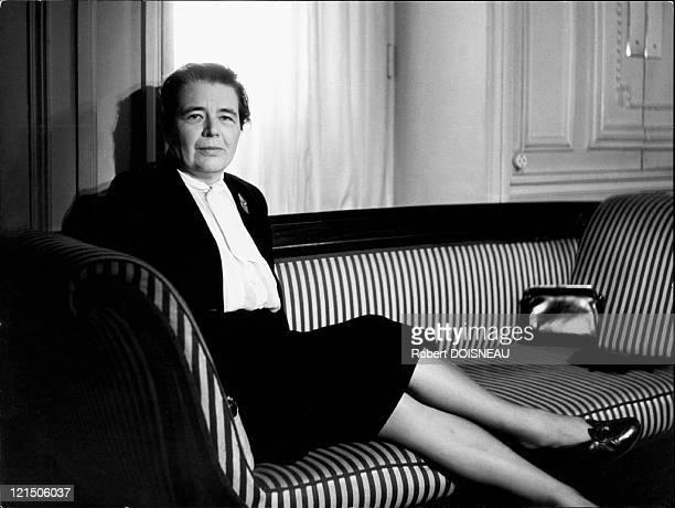 Marguerite Yourcenar French Writer In 1955