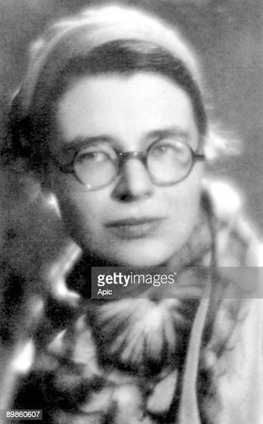 Marguerite Yourcenar pseudonym for Marguerite de Crayencour french writer c 1930