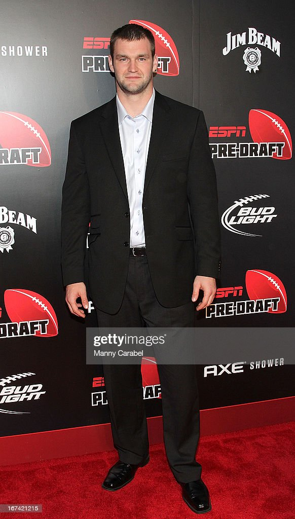 Margus Hunt attends the ESPN The Magazine 10th annual Pre-Draft Party at The IAC Building on April 24, 2013 in New York City.