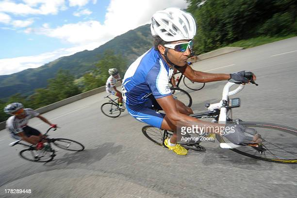 Marhawi Kudus G of Team UCI during Stage Four of the Tour de l'Avenir on August 28 Albertville to StFrancoisLongchamp France