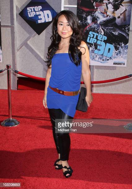 Mari Koda arrives to the Los Angeles premiere of 'Step Up 3D' held at the El Capitan Theatre on August 2 2010 in Hollywood California