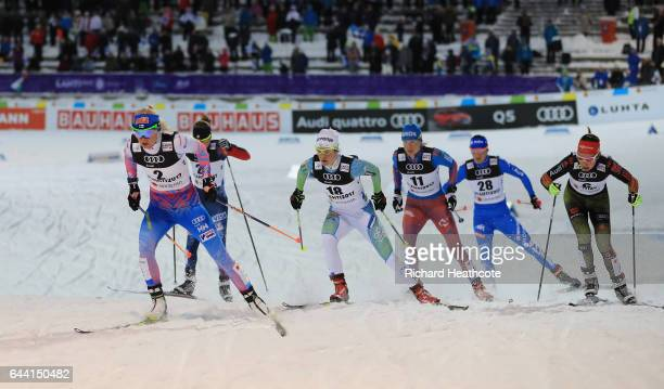 Mari Laukkanen of Finland Ida Sargent of the United States Alenka Cebasek of Slovenia Natalia Matveeva of Russia Greta Laurent of Italy and Hanna...