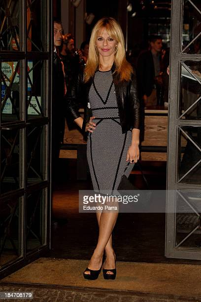 Maria Adanez attends Diurno 11th anniversary party at Diurno bar on October 15 2013 in Madrid Spain