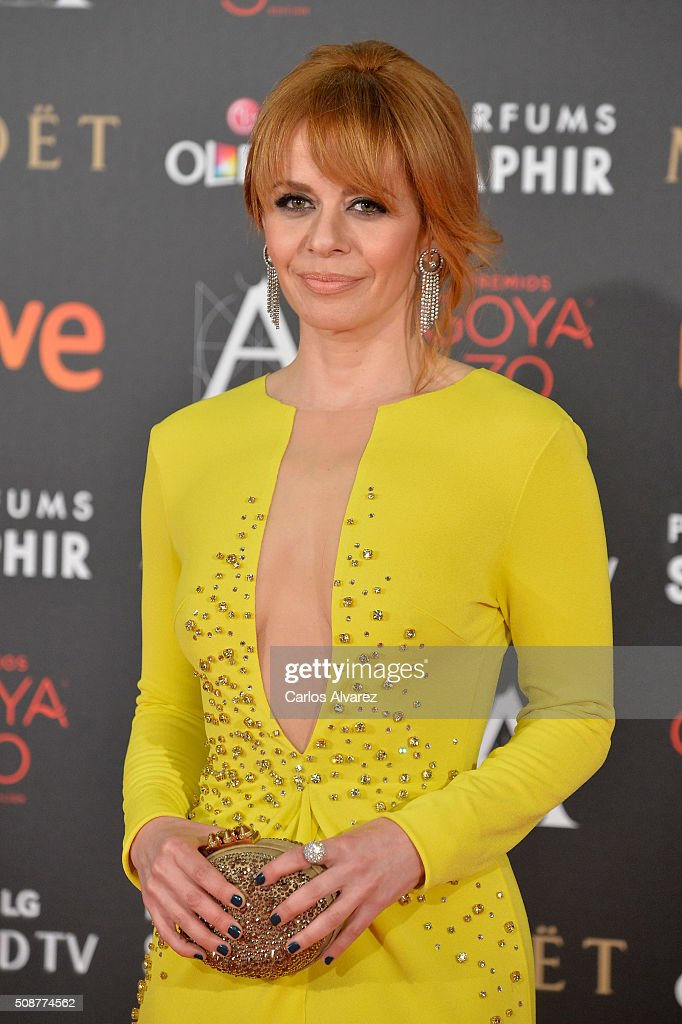<a gi-track='captionPersonalityLinkClicked' href=/galleries/search?phrase=Maria+Adanez&family=editorial&specificpeople=2201324 ng-click='$event.stopPropagation()'>Maria Adanez</a> attends Goya Cinema Awards 2016 at Madrid Marriott Auditorium on February 6, 2016 in Madrid, Spain.