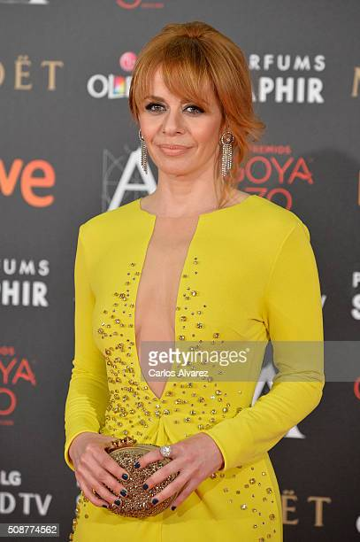 Maria Adanez attends Goya Cinema Awards 2016 at Madrid Marriott Auditorium on February 6 2016 in Madrid Spain