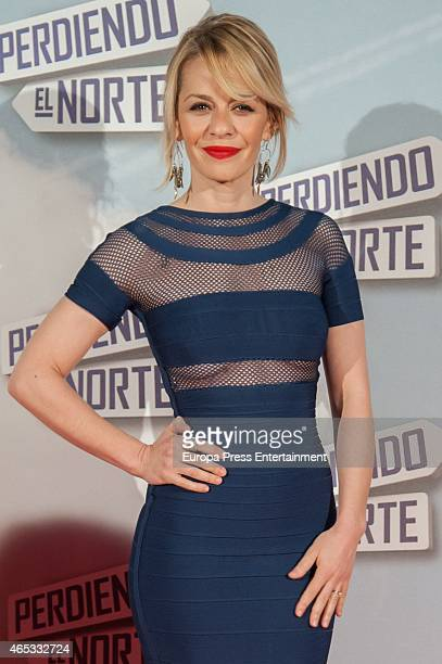 Maria Adanez attends 'Perdiendo El Norte' Madrid premiere on March 5 2015 in Madrid Spain