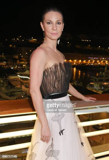 Maria Alexandrova attends a charity gala evening and performance of the play 'A LifeLong Pas' in honour of Rudolf Nureyev and Dame Margot Fonteyn...