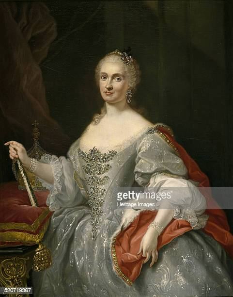 Maria Amalia of Saxony Queen of Naples Found in the collection of Museo del Prado Madrid