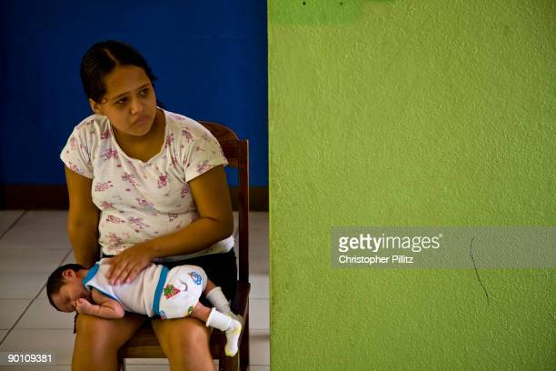 Maria and 11 other girls live in a 'Casa Alianza' a refuge for 'ninas madres' child mothers as they are known One of the girls who told her story is...