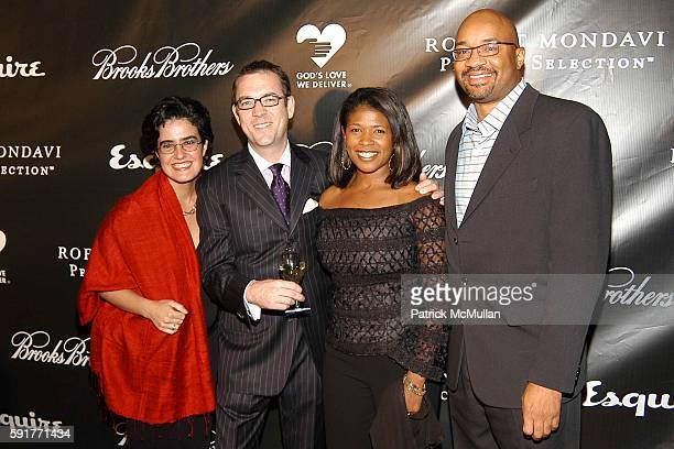 Maria AngelOrdonez Ted Allen Andrea Smalling and Rodney Williams attend Ted Allen Launches His New Cookbook At 'Esquire Downtown At Astor Place' at...