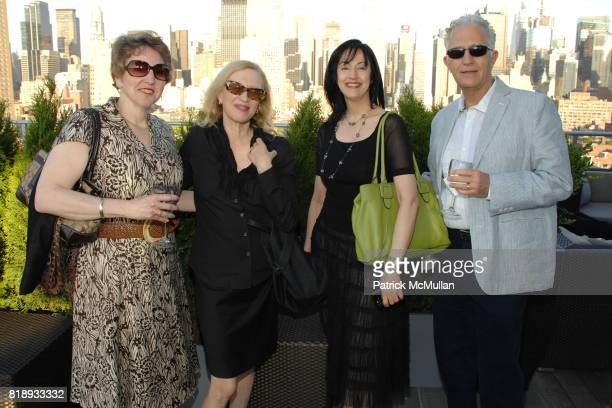 Maria Ann Conelli Valerie Steele Brenda Perez and Kim Hartswick attend First Summer Soiree CELEBRATING 25 YEARS of DIFFA hosted by David Rockwell...
