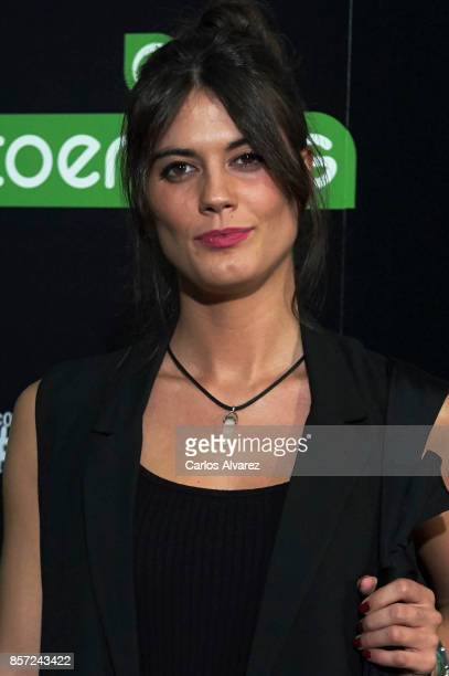 Maria Araujo attends 'An Inconvenient Sequel Truth to Power' premiere at the Callao cinema on October 3 2017 in Madrid Spain