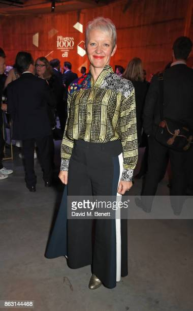 Maria Balshaw attends The London Evening Standard's Progress 1000 London's Most Influential People in partnership with Citi on October 19 2017 in...