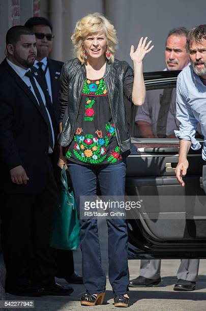 Maria Bamford is seen at 'Jimmy Kimmel Live' on June 22 2016 in Los Angeles California