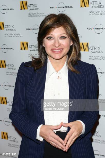 Maria Bartiromo attends New York WOMEN IN COMMUNICATIONS Presents The 2010 MATRIX AWARDS at Waldorf Astoria on April 19 2010 in New York City