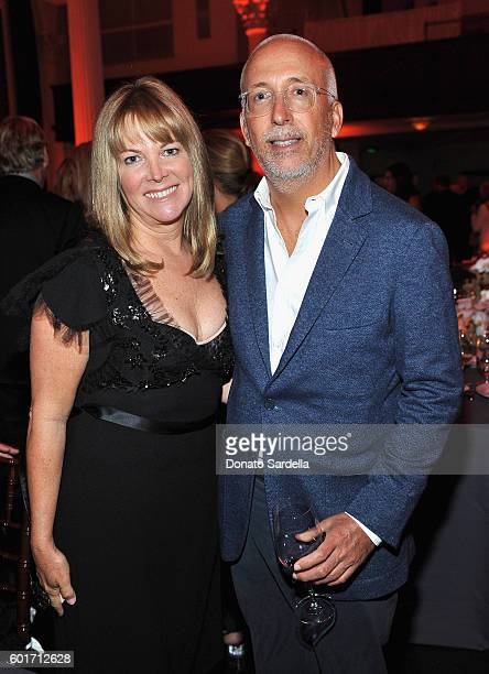 Maria Bell and Bill Bell attend MOCA's Leadership Circle And Members' Opening For 'Doug Aitken Electric Earth' at The Geffen Contemporary at MOCA on...