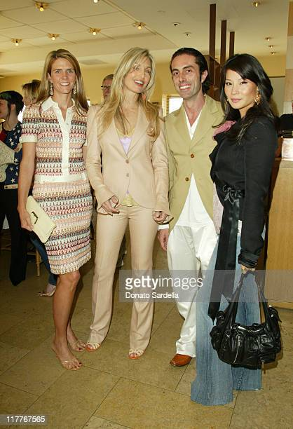 Maria Bell Heather Thomas Giambattista Valli and Lucy Liu