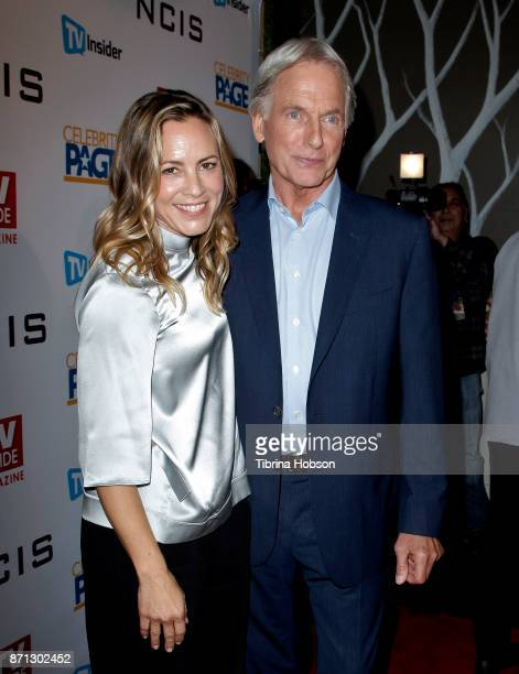 Maria Bello and Mark Harmon attend TV Guide Magazine's and CBS's celebration of Mark Harmon and 15 seasons of NCIS at Sportsmen's Lodge Event Center...