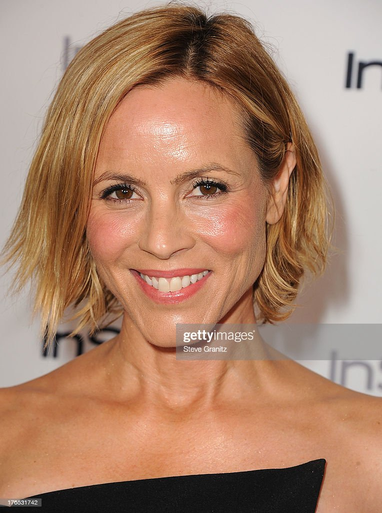 Maria Bello arrives at the 12th Annual InStyle Summer Soiree at Mondrian Los Angeles on August 14, 2013 in West Hollywood, California.
