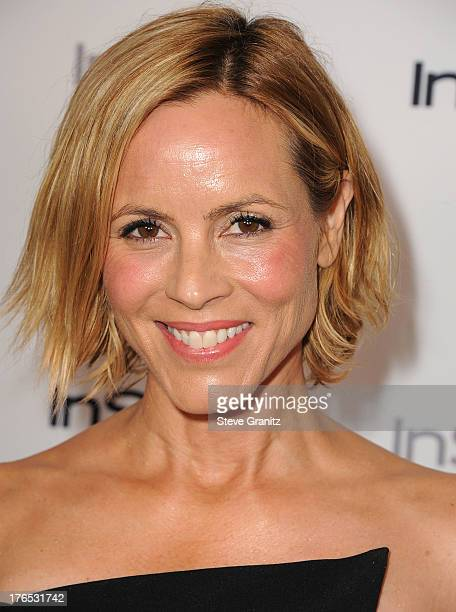 Maria Bello arrives at the 12th Annual InStyle Summer Soiree at Mondrian Los Angeles on August 14 2013 in West Hollywood California