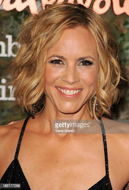 Maria Bello arrives at the Wallis Annenberg Center For The Performing Arts Inaugural Gala at Wallis Annenberg Center for the Performing Arts on...