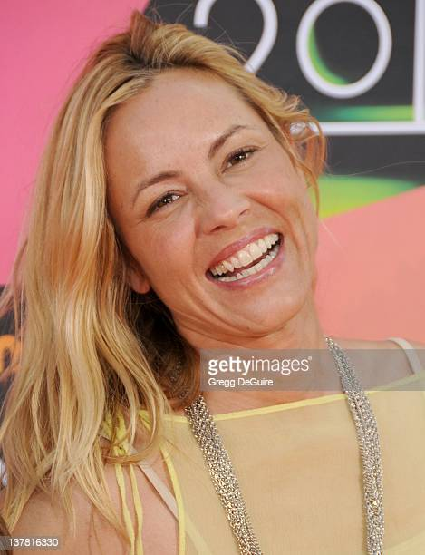 Maria Bello attends Nickelodeon's 23rd Annual Kids' Choice Awards held at Pauley Pavilion at UCLA on March 27 2010 in Los Angeles California