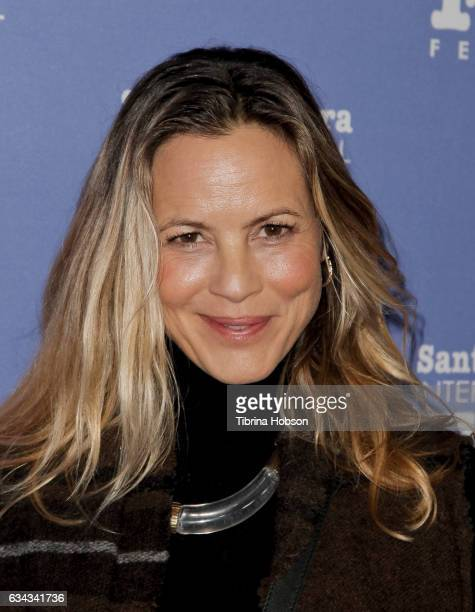 Maria Bello attends the 32nd Santa Barbara International Film Festival Montecito Tribute at Arlington Theater on February 8 2017 in Santa Barbara...