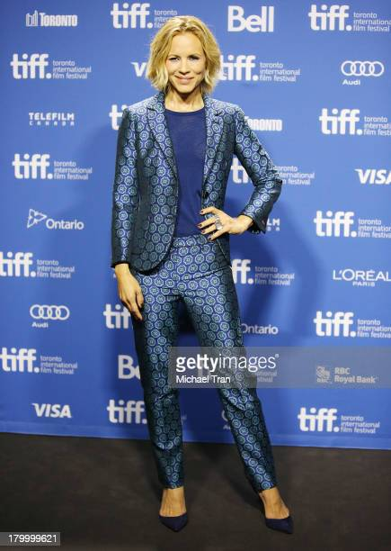 Maria Bello attends the 'Prisoners' press conference during the 2013 Toronto International Film Festival held at TIFF Bell Lightbox on September 7...