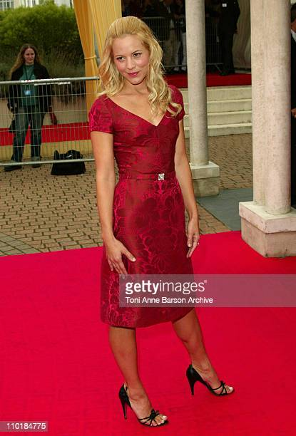 Maria Bello during 2003 Deauville Film Festival 'The Cooler' Premiere at CID in Deauville France