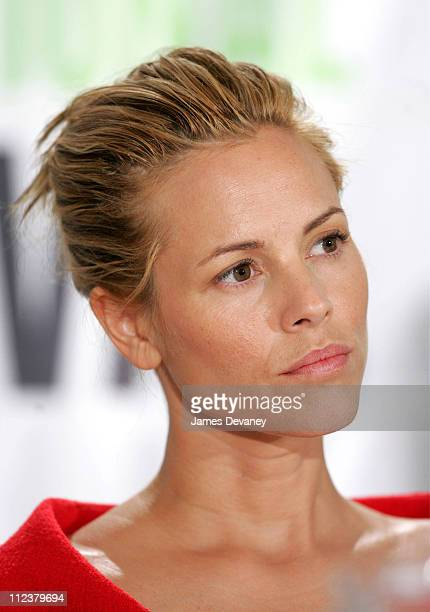 Maria Bello during 2004 Toronto International Film Festival 'Silver City' Press Conference at Four Seasons in Toronto Ontario Canada