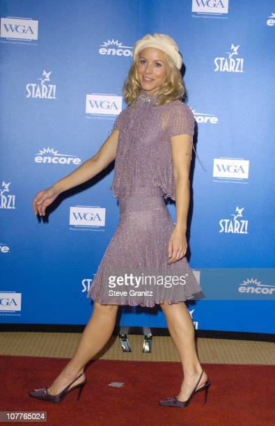 Maria Bello during 56th Annual Writers Guild Awards Press Room at Century Plaza Hotel in Los Angeles California United States