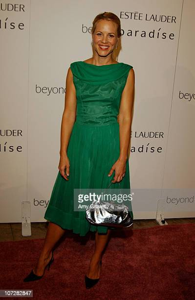 Maria Bello during Aerin Lauder And Carolyn Murphy Host An Exclusive Event To Celebrate The Launch Of Beyond Paradise at Private Residence in Beverly...