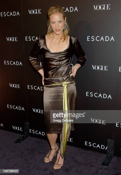 Maria Bello during Escada Grand Opening Of The Beverly Hills Flagship Boutique Arrivals at Escada Beverly Hills in Beverly Hills California United...