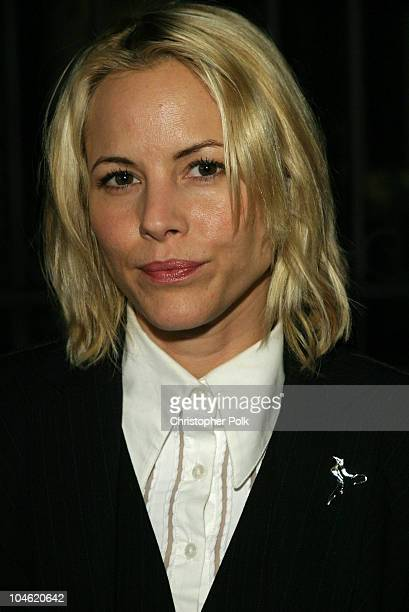 Maria Bello during Global Vision Peace Party at Historic Talmadge Estate in Los Feliz CA United States